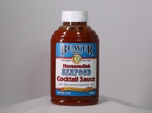 Beaver Horseradish Seafood Coctail Sauce