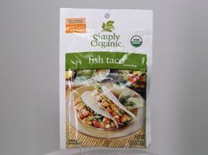 Simply Organic Fish Taco seasoning
