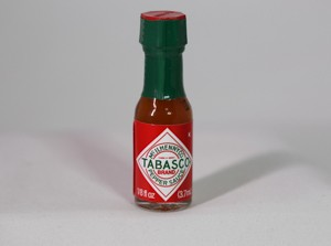 Tabasco sauce small