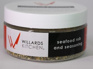 Willards seafood rub and seasoning
