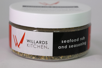 Willards seafood rub and seasoning